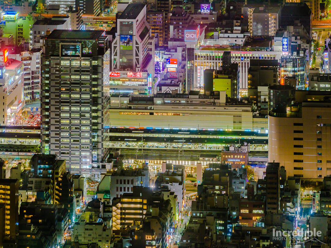 View from Tokyo Skytree