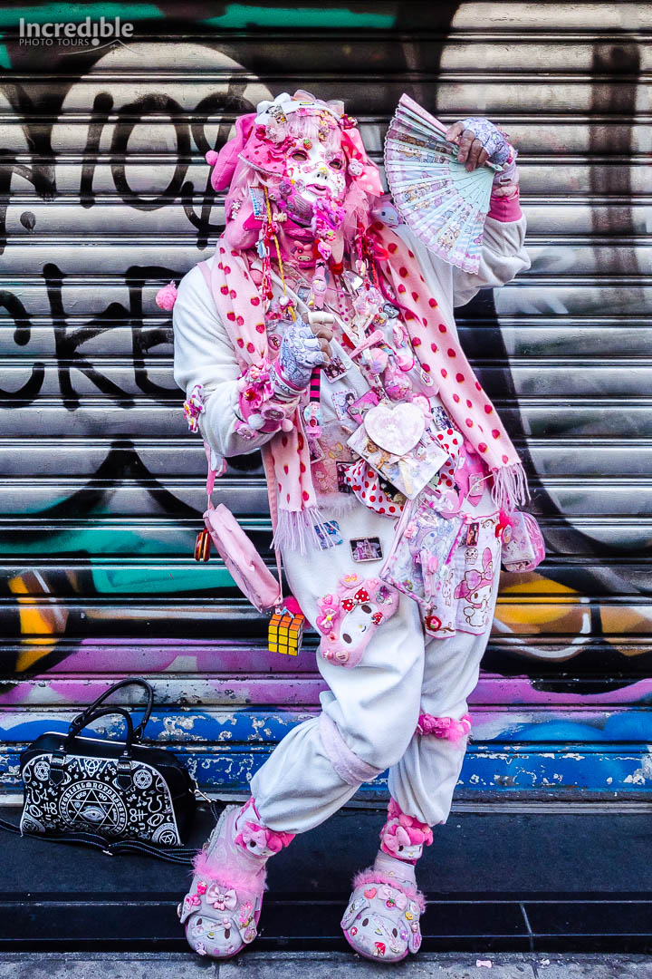 Fashion along Takeshita Street, Harajuku.