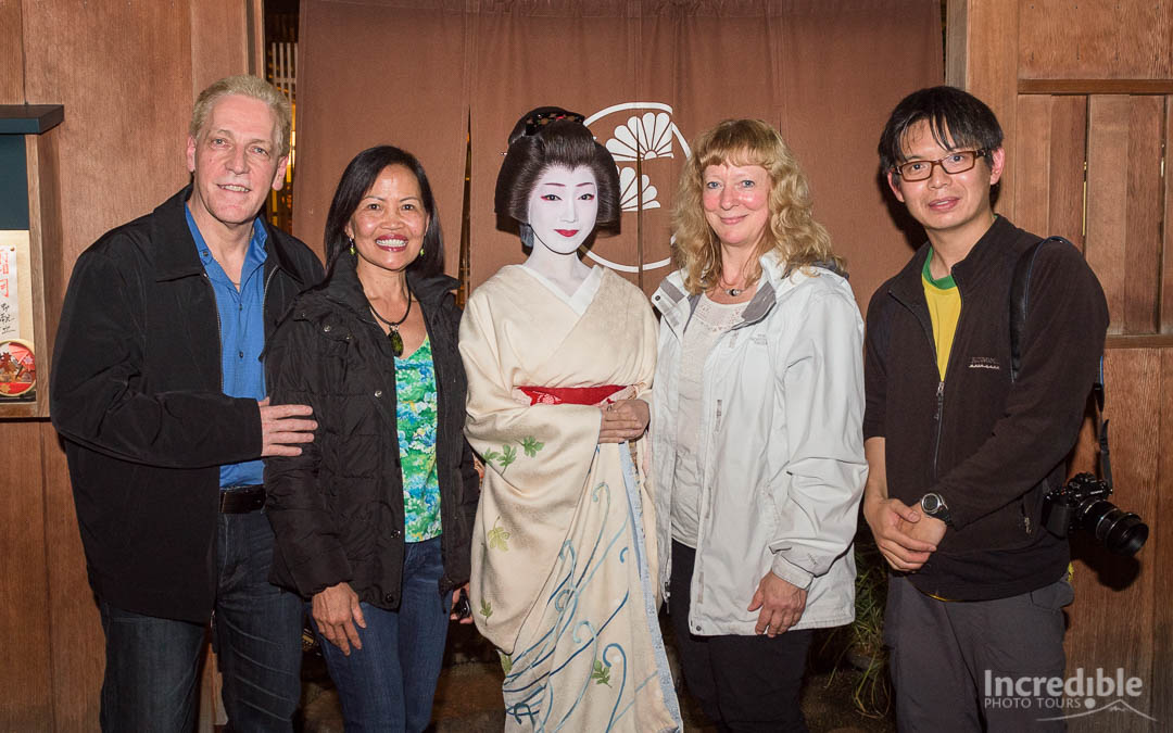 2015 Classic Japan Autumn Tour members with geiko Toshikana (芸子とし夏菜)