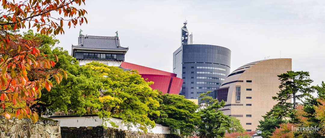Kokura Castle and Riverwalk