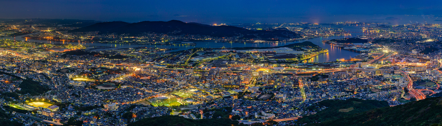 Sarakurayama night view